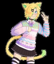 local catgirl says nya