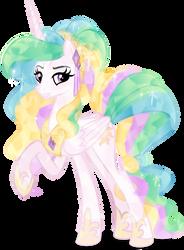 Crystal Princess Celestia by Orin331