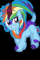 Kirin Rainbow Dash by Orin331