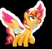 Rainbow Wings Sunset Shimmer