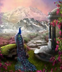 The king of peacocks by jasminira