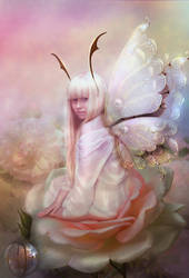 Flower Fairy by jasminira