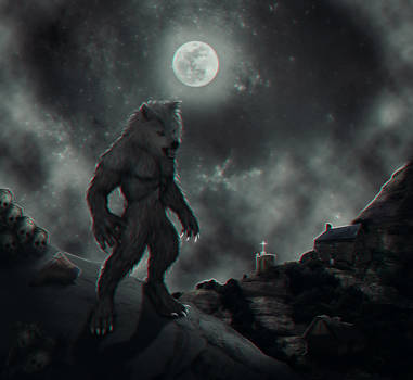 Howling At The Moon Night Dark Themed Only On Darknessenvelopme Deviantart