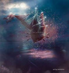 Flying Dutchman by jasminira