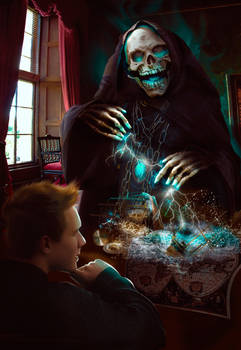 The Illustration. Terry Pratchet ,,Mort ,,