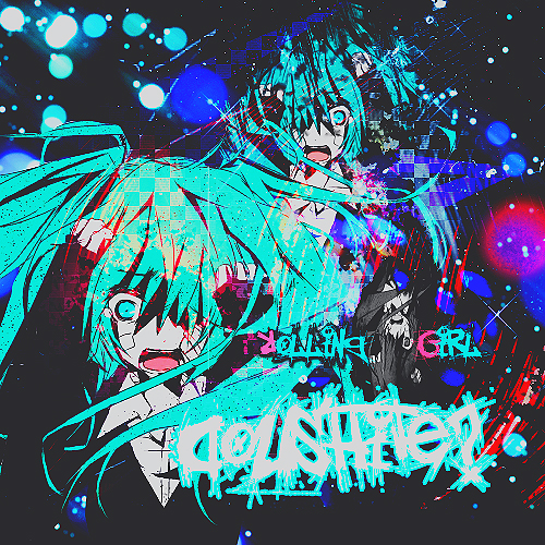 Rolling Girl Hatsune Miku by