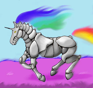 Robot Unicorn Attack  - A Normal Pace for Once