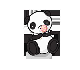 Candy Panda by YuriToBara