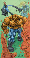 Fantastic Four by JAG