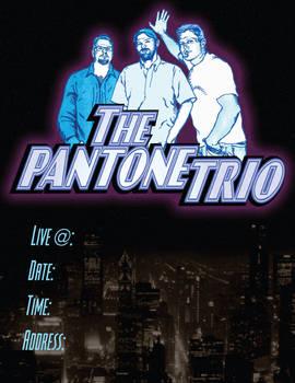 The Pantone Trio flier