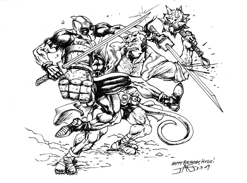 Magnífico Deadpool Y Wolverine Para Colorear Patrón - Dibujos Para ...