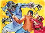 Big Bad Wolf vs Lumberjack