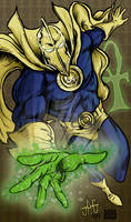 Doctor Fate color