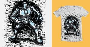 Iron Man Threadless byJohnnyGolden1