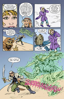 Unknown Universe pg5 text and flats