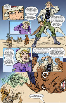Unknown Universe pg4 text and flats