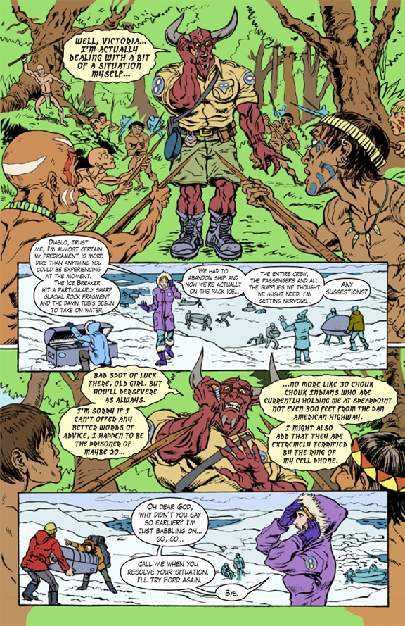 Unknown Universe pg2 text and flats