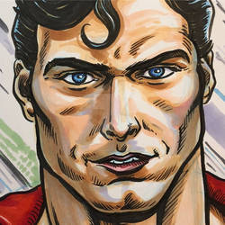Christopher Reeve Superman Closeup