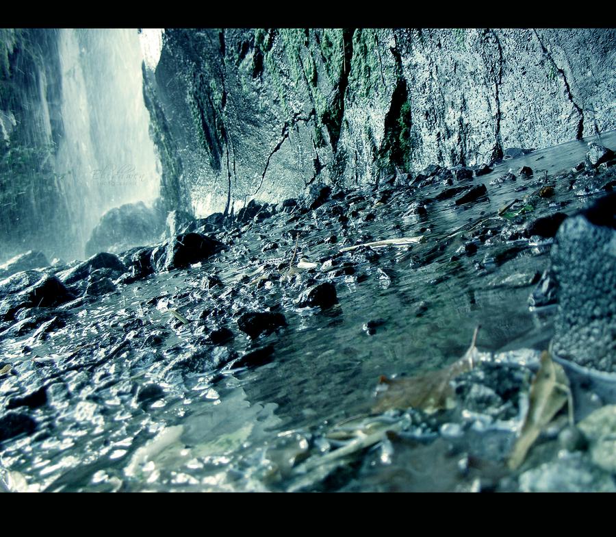 Nideck Waterfall by Tite-Nelfe