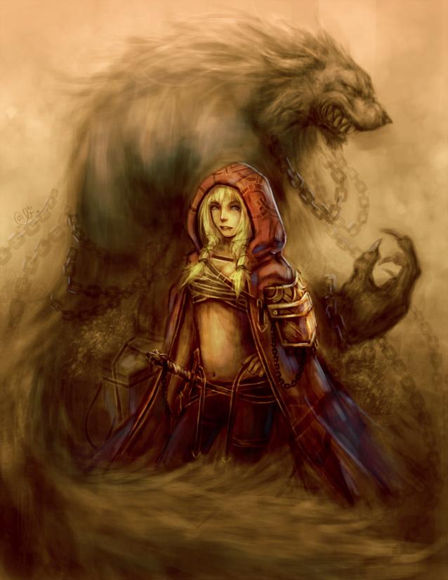 Little Red Ridding Hood by AlivanArt