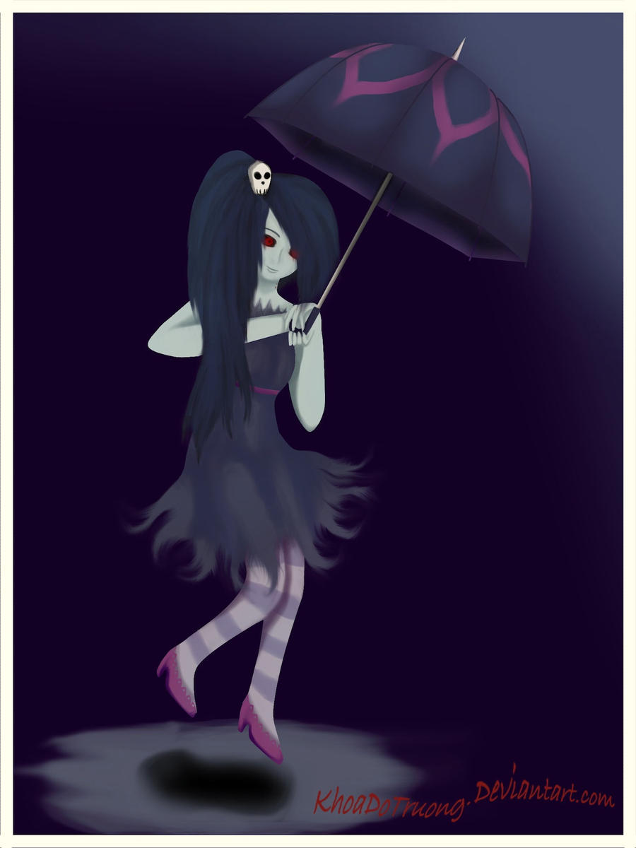 Marceline Thee Vampire Queen by KhoaDoTruong