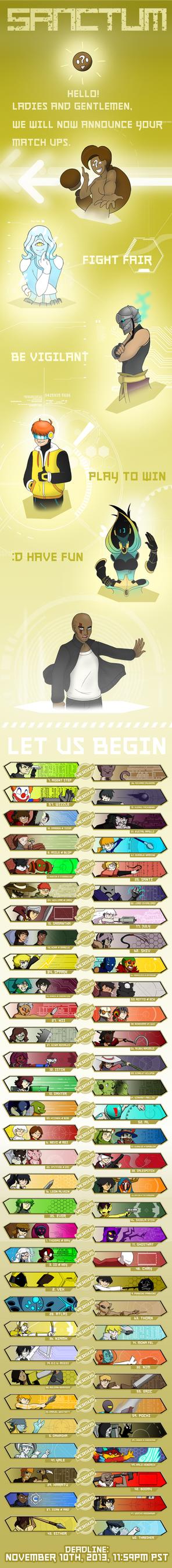 Sanctum OCT: Round 1 Begin! by FastAndDelicious