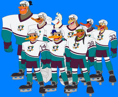 The Guys In Their Hockey Gear