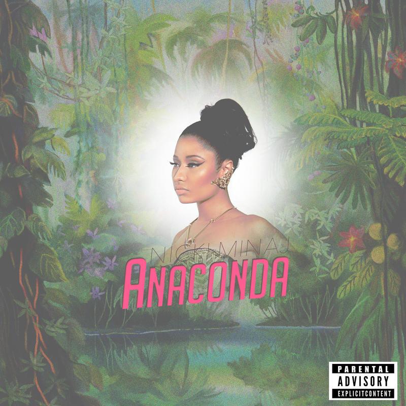 Nicki Minaj - Anaconda Album Cover by WHATTHEFUCK1998