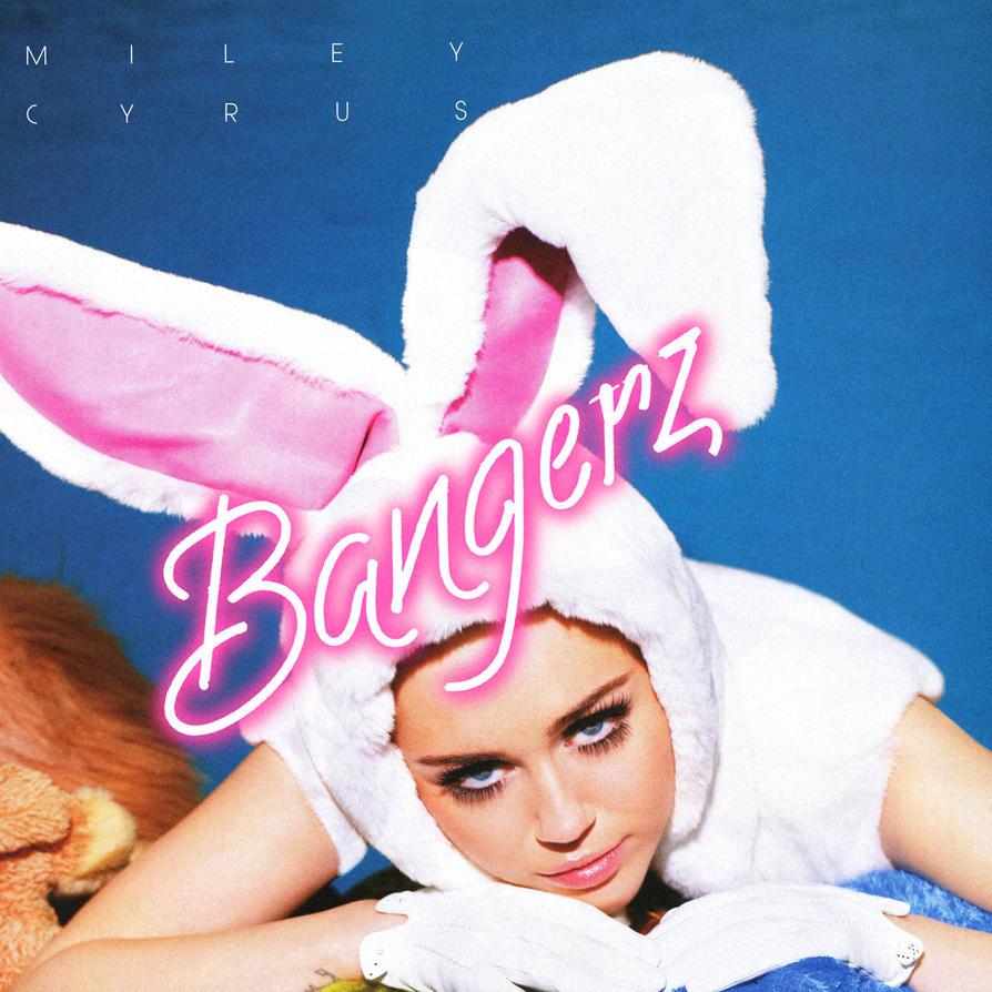 MILEY CYRUS - BANGERZ - ALBUM COVER by WHATTHEFUCK1998