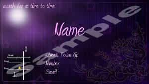 post card invite
