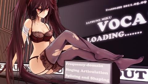 Zetsuna Miku Vocaloid by gongyoo2