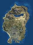 GTA V Map HD Version