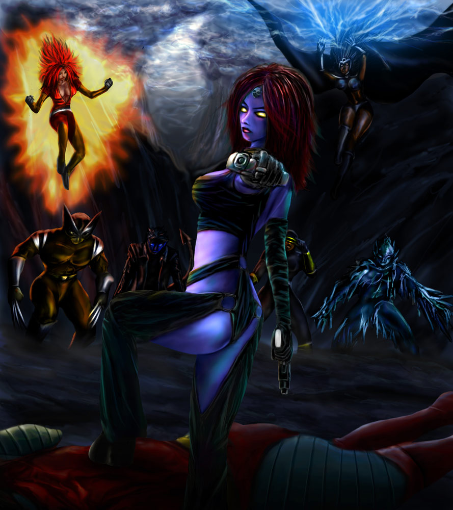 Mystique by ~whiteguardian on