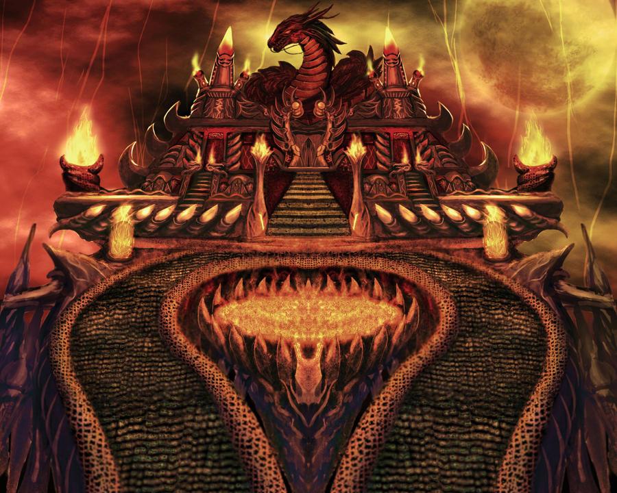 temple dragon