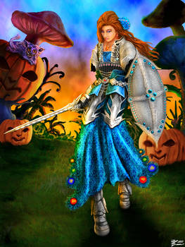 Alice in Halloween Forest