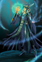 Hong Yi the Oriental Mage by whiteguardian