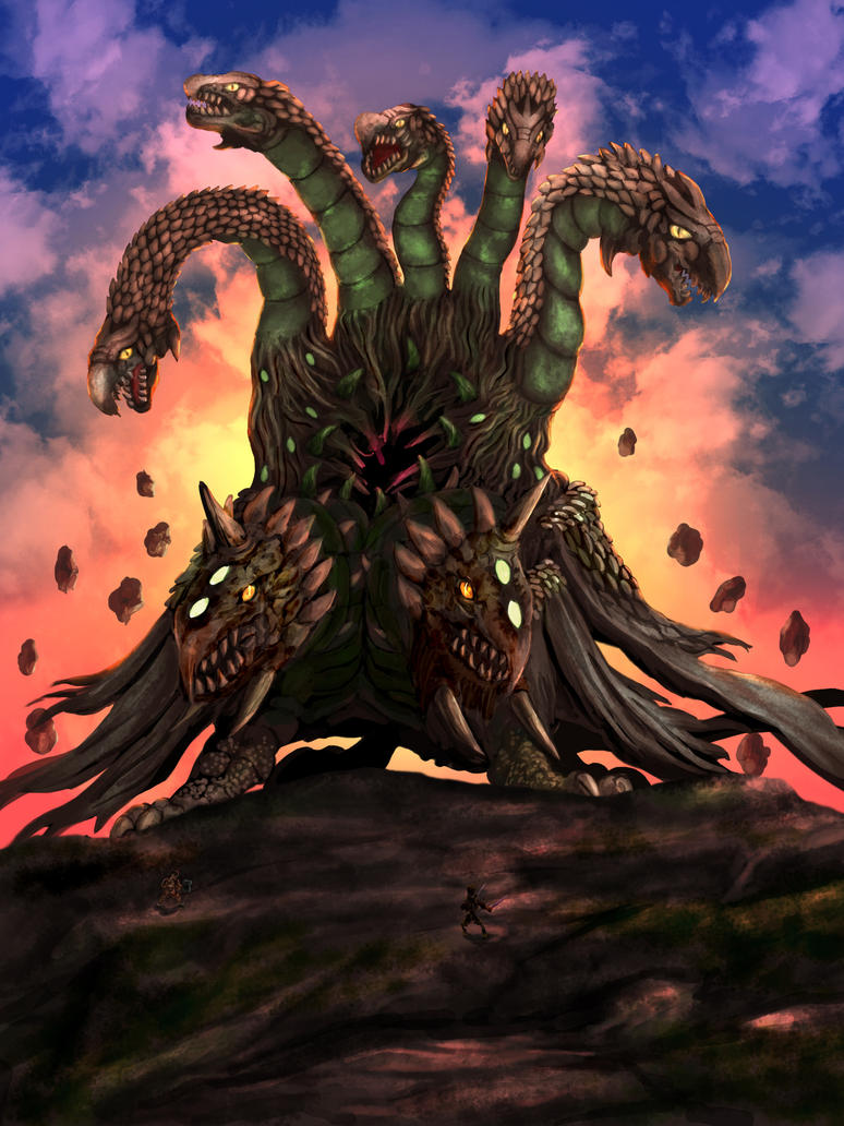 Earth Colossus by whiteguardian