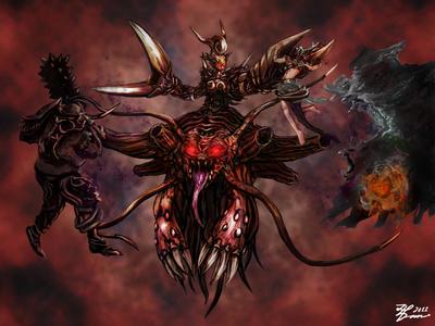 Demon Queen Maleagist by whiteguardian