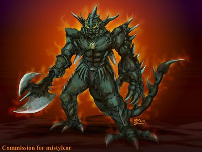 COM : Vengeful Xelnos by whiteguardian