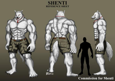 COM : Shenti Reference Sheet by whiteguardian