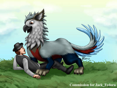 COM : Jack Fedora and Calix-Lettore by whiteguardian