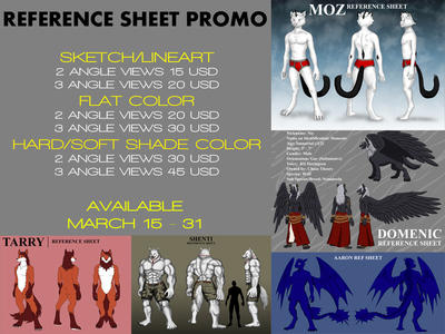 Reference Sheet Promo by whiteguardian
