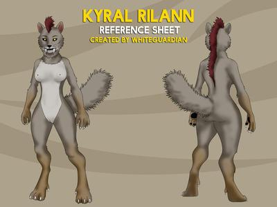 COM : Kyral Rilann Ref Sheet by whiteguardian