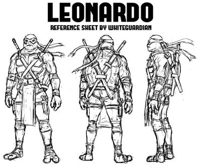 Leonardo Reference Sheet by whiteguardian