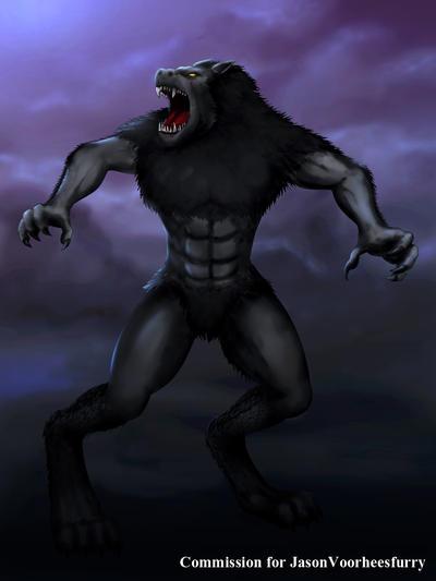 COM : Werewolf by whiteguardian