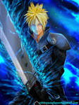 Cloud Strife by whiteguardian