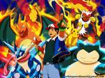 Pokemon Beat Them All Poster
