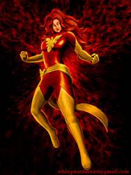 Dark Phoenix by whiteguardian
