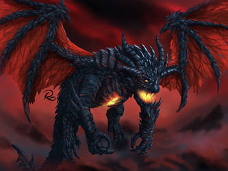 Deathwing by whiteguardian