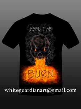 T-Shirt Feel the Burn